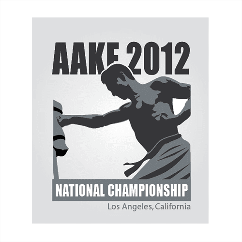 AAKF National Championships Logo Design